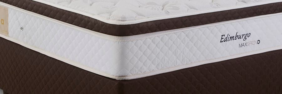 Cama Box Casal Herval Edimburgo - pillow