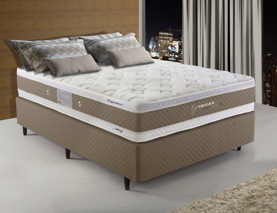 Cama Box Casal Herval German Maxspring