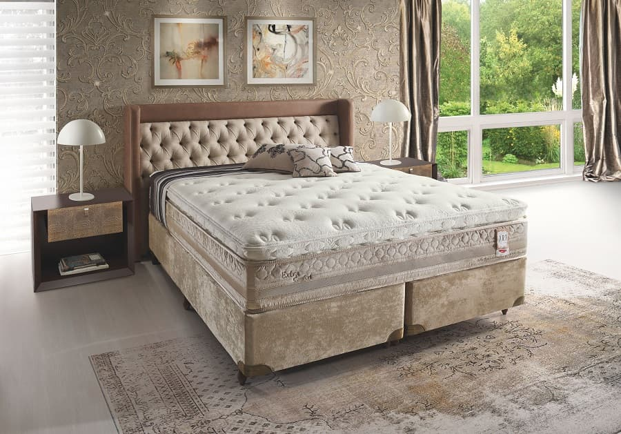 Cama Box King Herval Extra Comfort