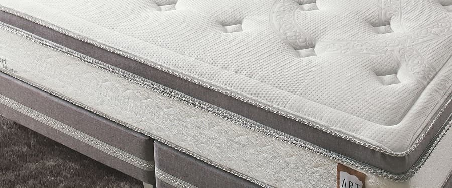 Cama Box Queen Herval Comfort Master - pillow top