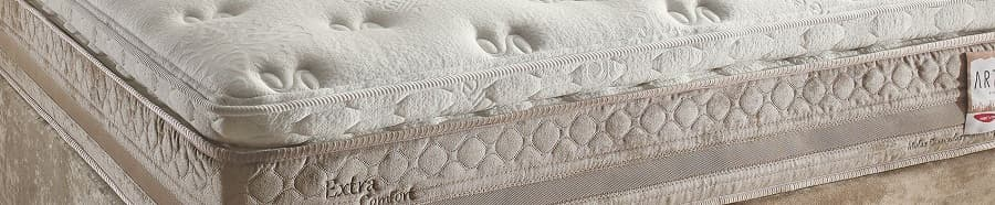 Cama Box Queen Herval Extra Comfort - Pillow Top One Side